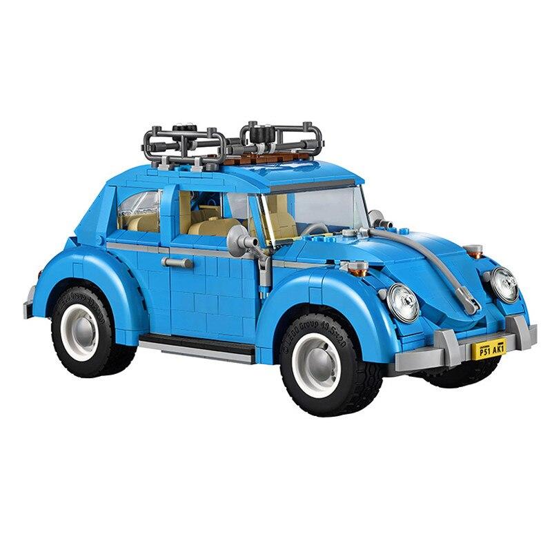 LOZ Volkswagen mini Beetle Transformable Model Building Block Set DIY Gift Toy For Children compatiable Legoingly technic цены