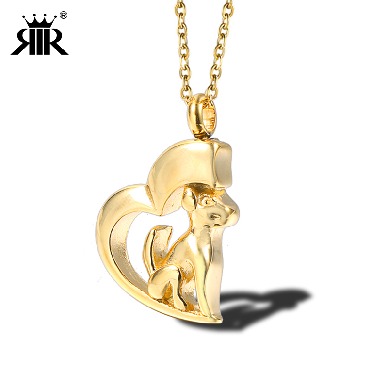 US $4 07 |RIR Cremation Urn Necklace Dog Ash Necklace Urn Stainless Steel  Pendants Cremation Jewelry In Stainless Steel-in Pendants from Jewelry &
