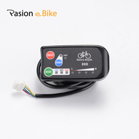 Free Shipping 24V 36V 48V Ebike Intelligent LCD 880 Control Panel Display Electric Bicycle Bike Parts
