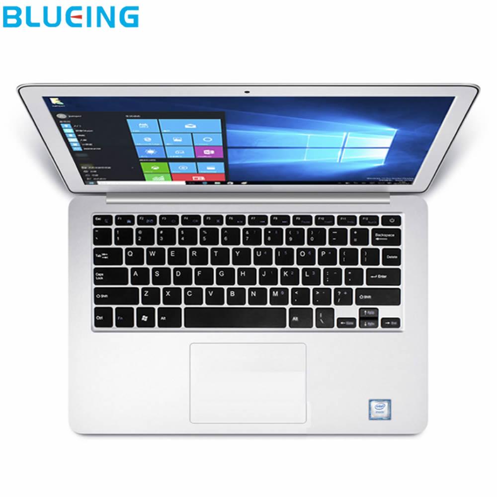 13.3 pouces En Métal 6 GB 64 GB SSD ultra-mince ordinateur portable Intel N3350 HD 1920*1080 Windows 10 WIFI bluetooth portable livraison gratuite