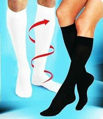 Unisex antifatigue compression socks soothe tired achy leg reduce swelling elastic socks as slimming leg socks AS SEEN ON TV