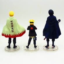 3pcs/Set Naruto Uzumaki Boruto Sasuke Action Figure Toy