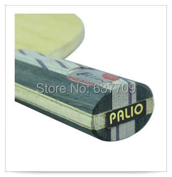 Palio TS1 Original (TS 1, TS-1) 5 madera + 2 carbono suave + 2 hoja de tenis de mesa de titanio para jugador completamente redondo nueva hoja de ti-carbon