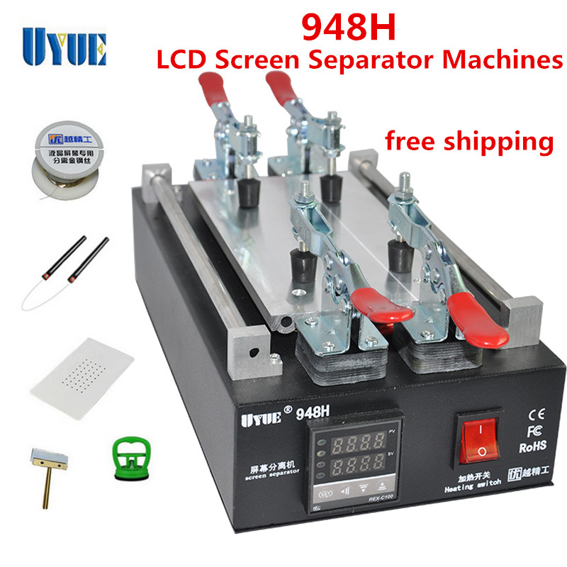 New UYUE 948H LCD Touch Screen Separator Machine For Phone Screen Glass Removal Split Machine Free Shipping куклы gulliver кукла дынька 30см