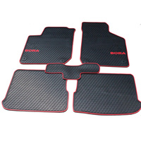 Special Tasteless Carpets Waterproof Rubber Rugs Latex Car Floor Mats For Bora Classic Pad Thickening Senior