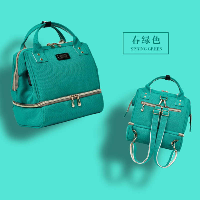 Fashion Portable Shoulder Small Mummy Breast Preservation Bag Maternal Baby Backpack Preserve Mother\`s Milk Bag Mon Backpack (10)