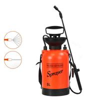 5L Small Watering Pot, Garden Watering Flower Sprayer, Household Agricultural Manual Pneumatic Sterilizing Spray Kettle.