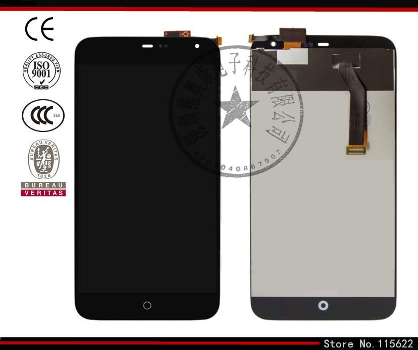 Pantalla lcd de pantalla para meizu mx3 teléfono celular, (negro, blanco, con pa