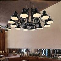 Винтажные подвесные светильники, лампа для кухни, столовой, ресторана, бара, кофейни, ретро, подвесной светильник, освещение