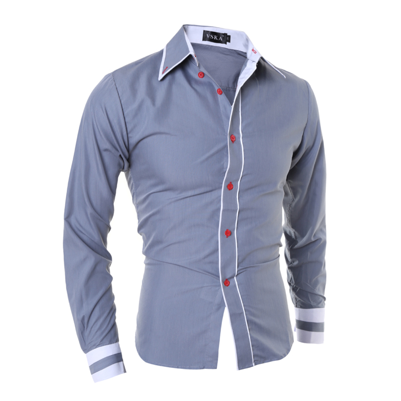 Buy mens luxury casual dress shirts men 39 s for Cool mens casual shirts
