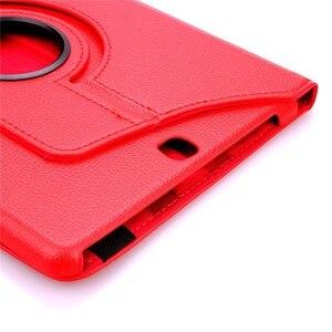 Для Samsung Galaxy Tab Pro 10,1 дюймов T520 T525 T521 Note 2014 P600 P601 P605 чехол для планшета 360 Вращающийся Кронштейн кожаный чехол