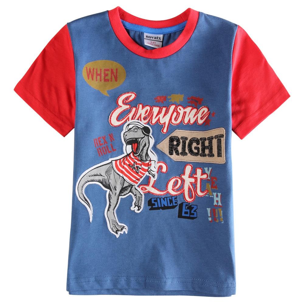 Design t shirt kid new 2015 children t shirts animal design t shirt boys kids