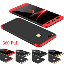 For xiaomi A1 Mi Case , Full Edge Protect Slim Hard PC Hybrid mi Cover MI 5X