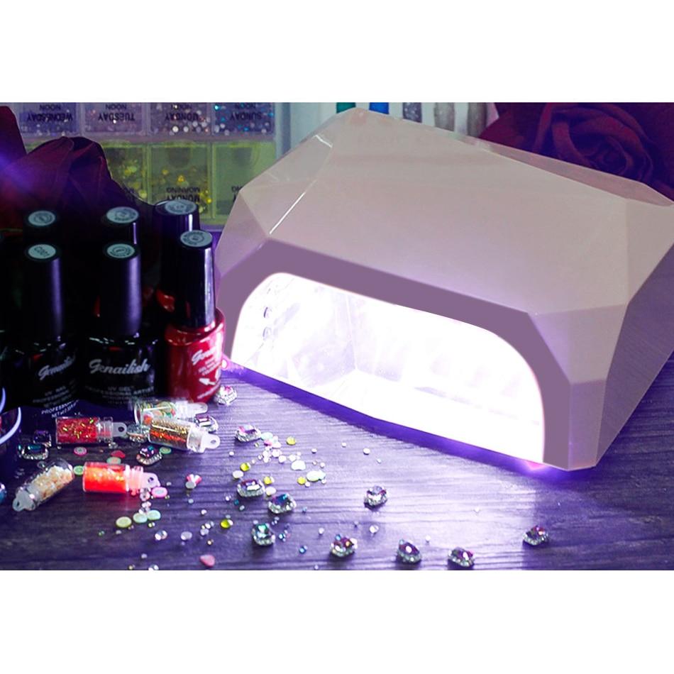genailish 36W UV Lamp Nail Dryer UV LED Lamp for Nails Gel Dryer ...