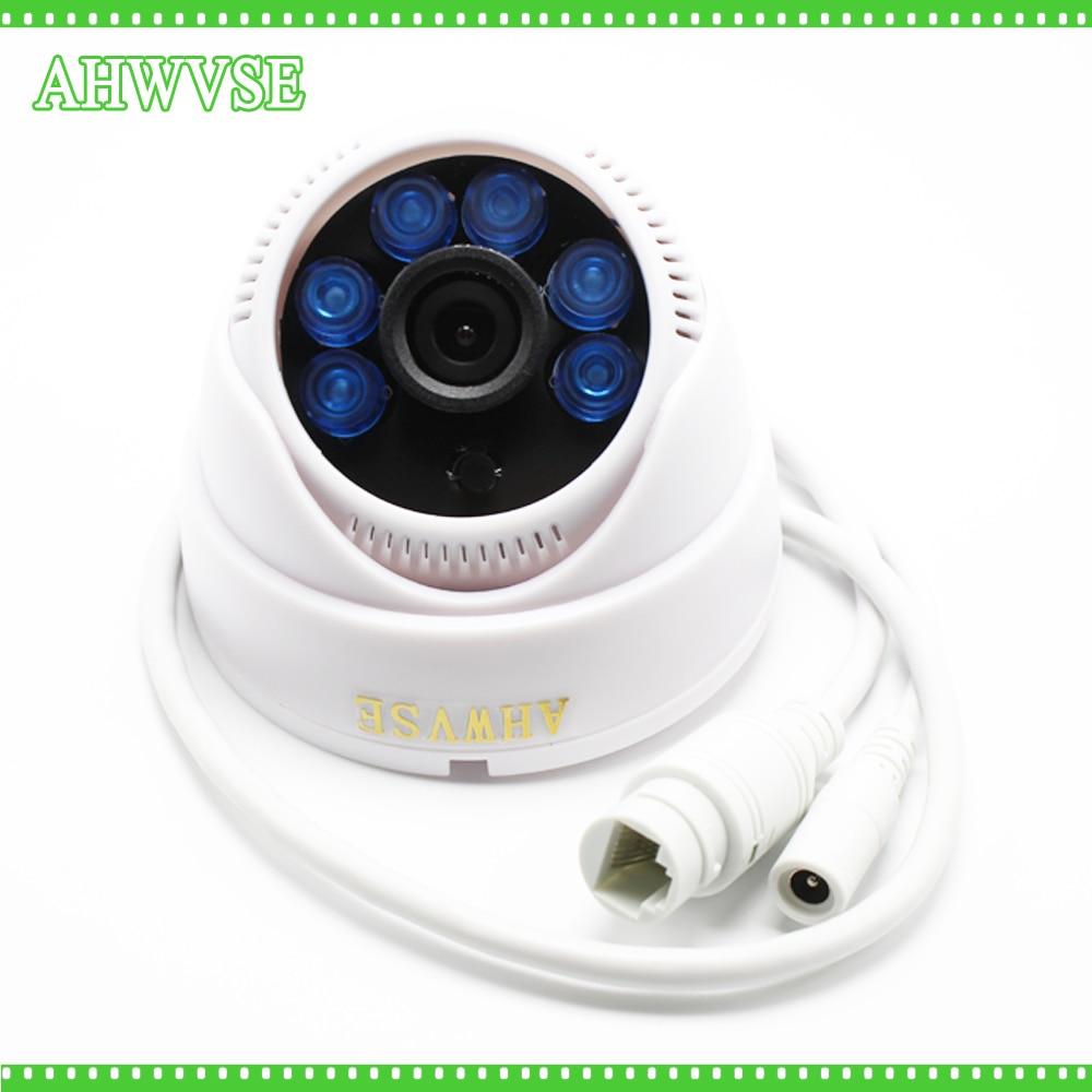2.0 Megapixel Lens 1920*1080P Dome IP Camera IR Indoor Security ONVIF 2.0 Night Vision P2P IP Cam IR Cut Filter AHWVSE 1080p 2 0mp 960p 1 3mp 720p 1 0mp 4led ir dome ip camera indoor cctv camera onvif night vision p2p ip security cam ir cut 2 8mm