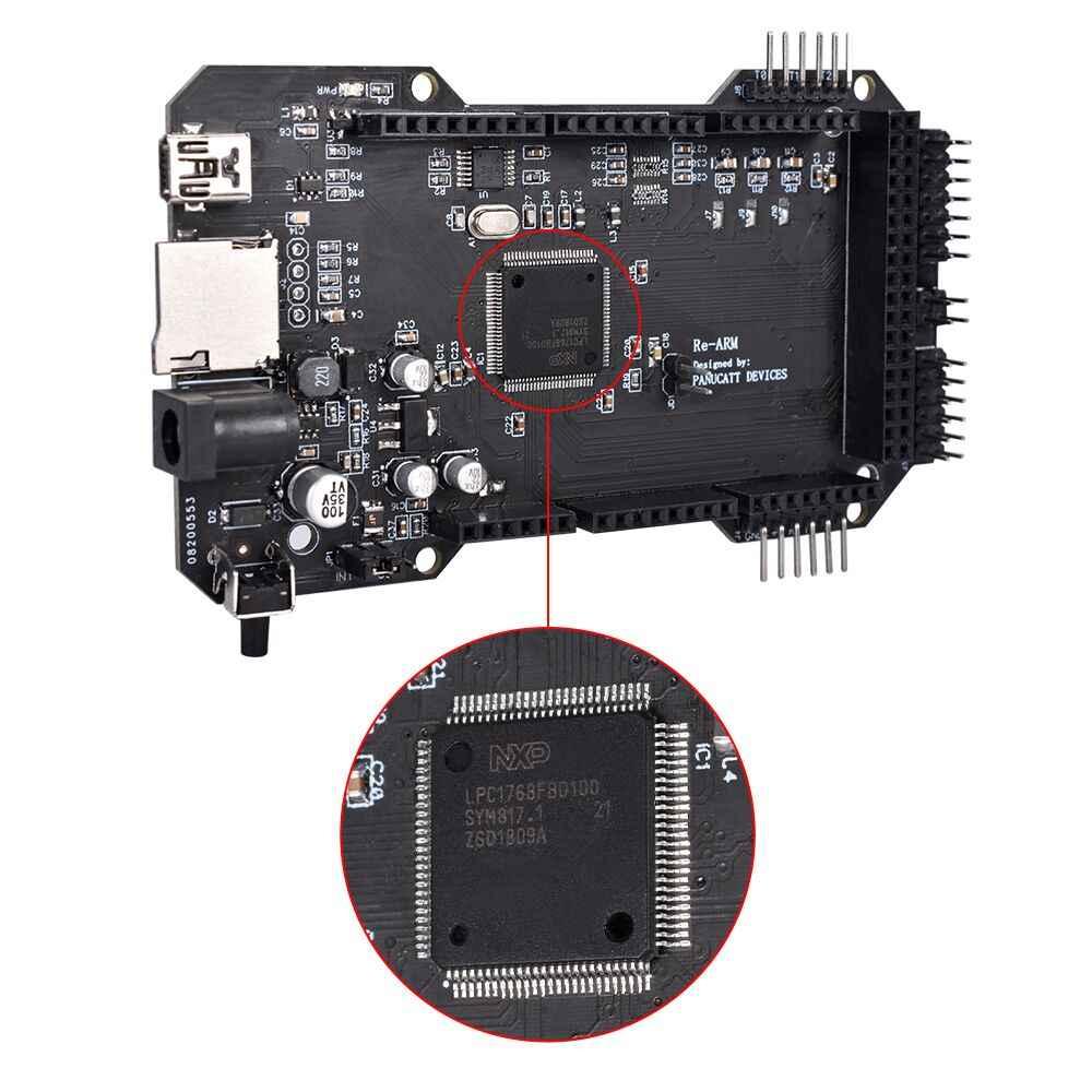 Clone RE - แขน 32Bit Controller เมนบอร์ด Update บน Mega 2560 R3 สำหรับ Ramps 1.6 Plus Ramps 1.5 1.4 3D คณะกรรมการขยายเครื่องพิมพ์