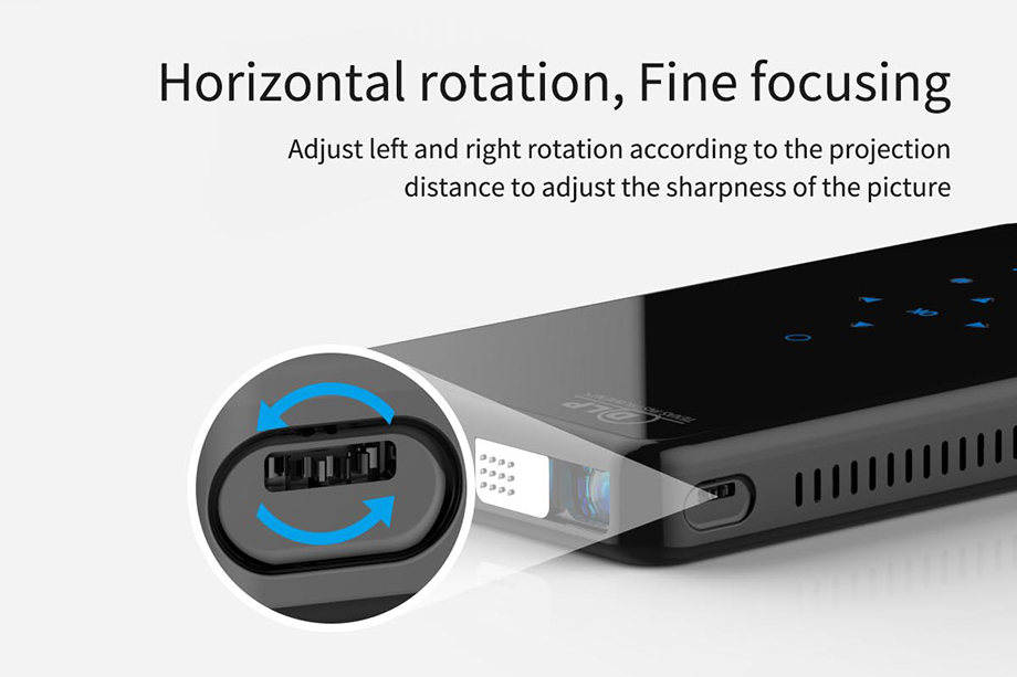 SmartIdea X2 HD Handheld DLP Projector Android 7.1 Wifi bluetooth 4.1 Pico Pocket Proyector HD Portable Beamer Miracast Airplay