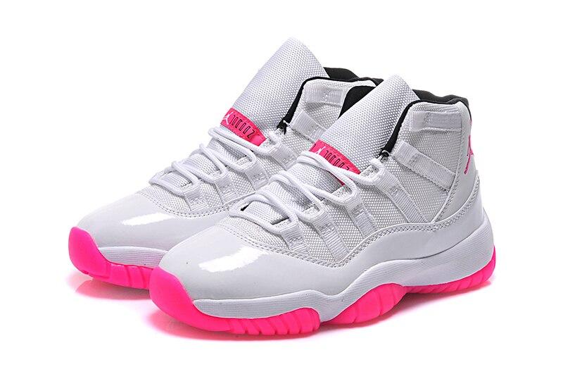 Free shipping JORDAN Basketball Shoes High-Top Women pink  red white Basketball Shoes Jordan  For women 11 free shipping candy color women garden shoes breathable women beach shoes hsa21