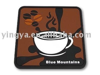 PVC tea Coaster