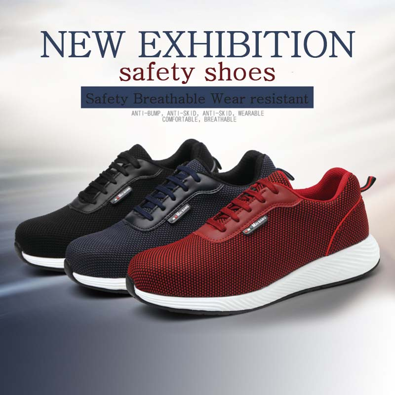 New-exhibition-2019-Mens-Safety-Work-Shoes-Anti-Smashing-Steel-Toe-Breathable-Shoes-EVA-outsole-Lightweight-Protective-sneaker   (10)