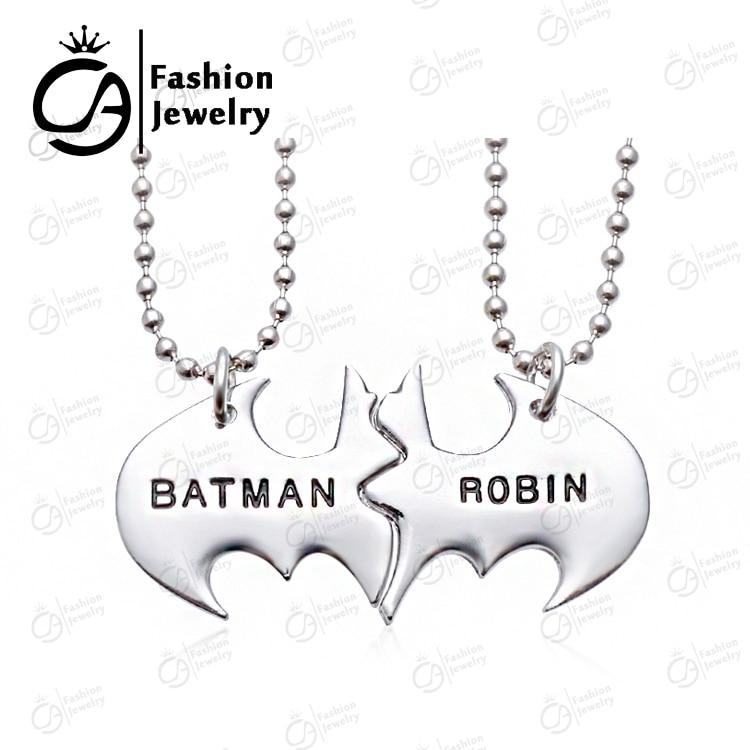 бэтмен дружбы ожерелье