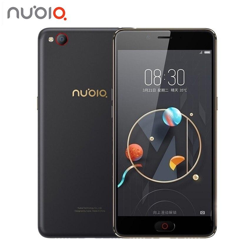 """Оригинальный zte Нубия N2 4 ГБ Оперативная память 64 ГБ Встроенная память 5000 мАч смартфон 4 г LTE 5,5 """"дюймов MT6750 octa Core 16,0 Мп отпечатков пальцев ID смартфон"""
