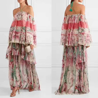 2017 silk dress vestido de festa loose beach summer chiffon dress bohemian halter sexy maxi dress lace vadim beach long dress