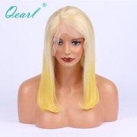 Virgin Birmese 150% Dichtheid Menselijk Haarkant Ombre Blonde Two Tone Voor Zwarte Vrouwen