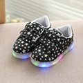 2017 primavera crianças sport shoes sapatilhas menino meninas marca glowing led flash de luz luz luminosa moda botas casual shoes bebê