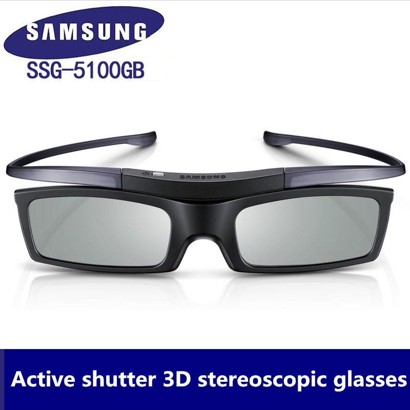 Official 100% Genuine 3D Bluetooth Active Shutter Glasses for Samsung SSG-5100GB 3DTVs Universal TV cardboard Free Shipping