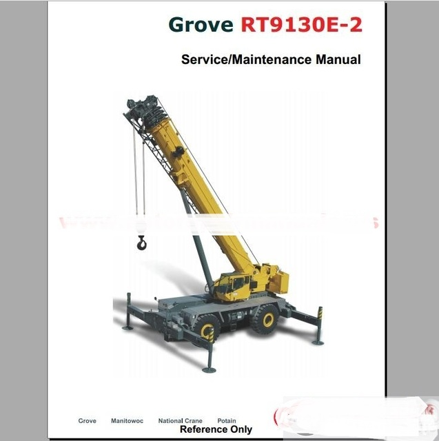 grove crane all service manual training manual in code readers rh aliexpress com Crane Operators Manual Online Manitowoc 14000 Crane Operators Manual