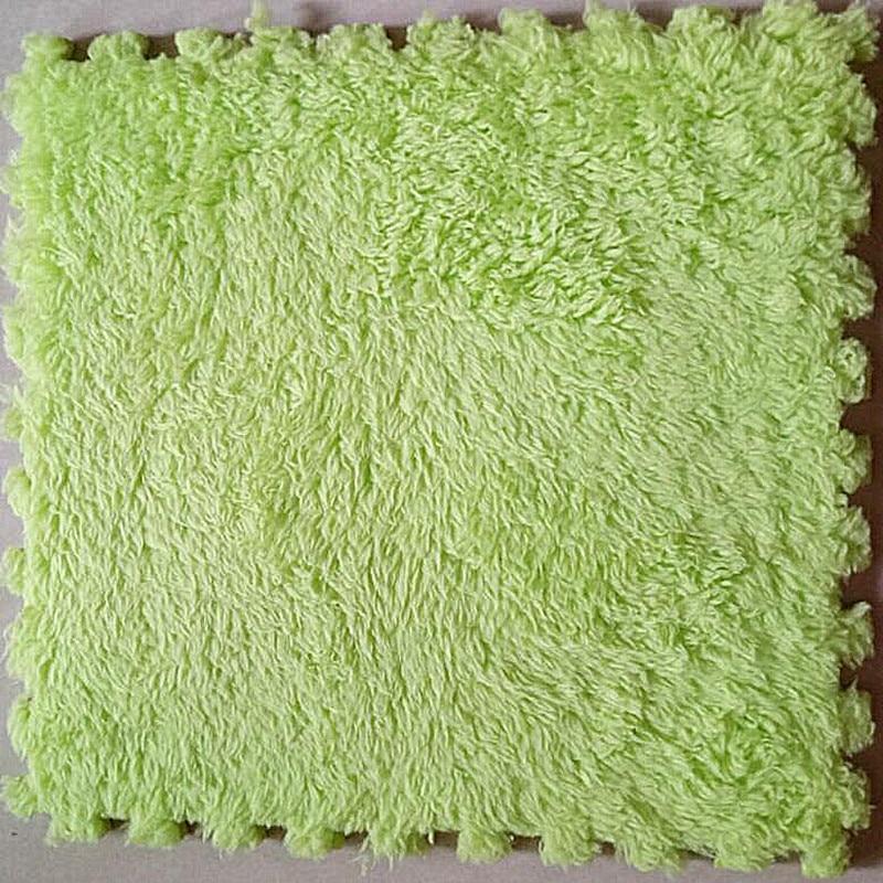 무료 배송 매직 벨벳 카펫 매트 패치 워크 거실 커피 테이블 장식 eva 퍼즐
