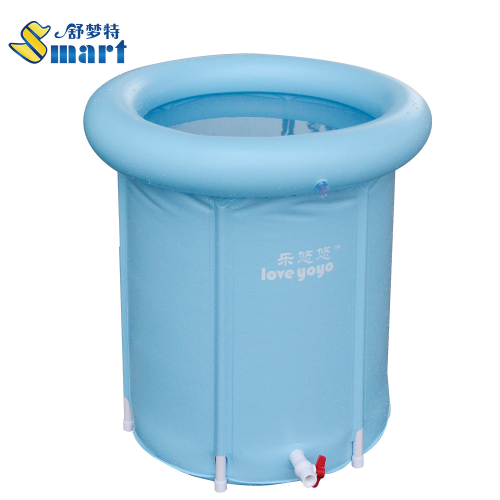 60x70 cm spessore pieghevole vasca vasca da bagno gonfiabile senza coperchio vasca da bagno per adulti piscina bambini vasca