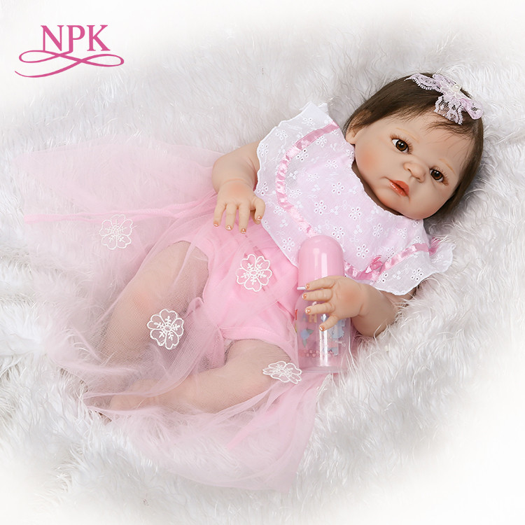 NPK reborn doll with soft real gentle touch new design girl gender doll pink clothes doll best gift for your daughtersNPK reborn doll with soft real gentle touch new design girl gender doll pink clothes doll best gift for your daughters