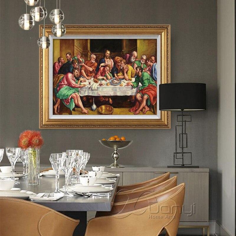 Last Supper Kitchen Artwork Painting