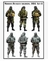 Бесплатная Доставка 1/35 Масштаб Смолы Фигура Современной Российской Армии 2014