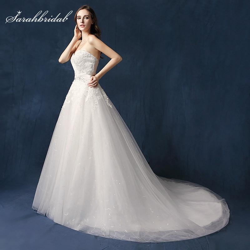 Aliexpress.com : Buy Modest Lace Appliques Top Wedding