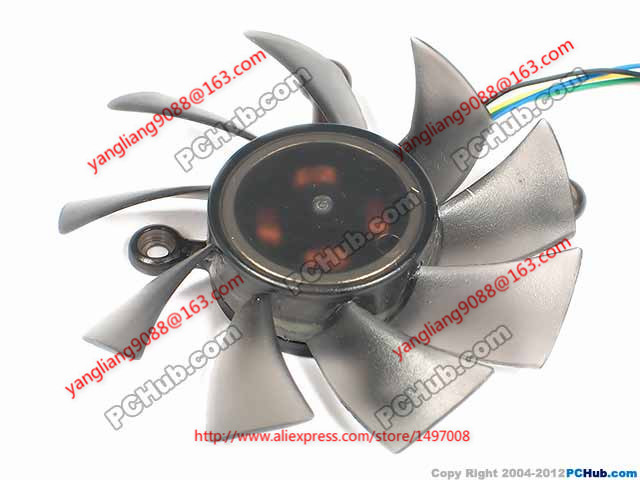 все цены на Free Shipping Emacro EVERFLOW R128015SU DC 5V 0.5AMP 4-wire 4-pin connector 100mm Server Round Cooling fan онлайн