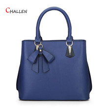 fashion bow women bags famous brand shoulder messenger bag solid zipper handbag good price crossbody bag luxury pu clutch Y743