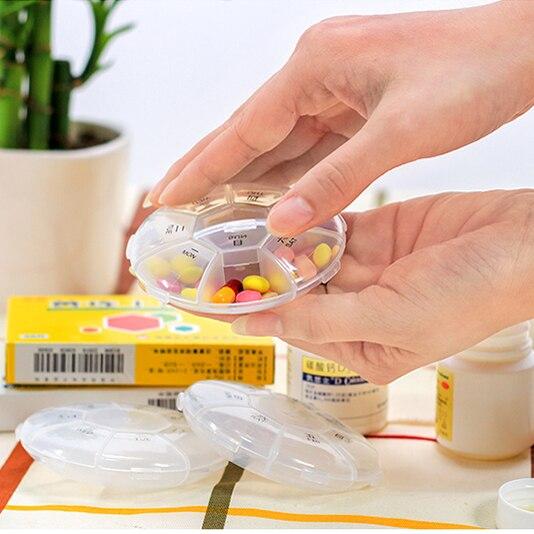 Mini moderní přenosné transparentní zdravotnické sestavy zdravotnické potřeby Round Round Round box Round box box box box box box box box box box shipping