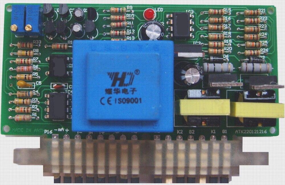 0-5 V, 0-20mA, contrôle de potentiomètre, 0-220 V réglable, ATK2201-0 de carte de déclenchement de Thyristor