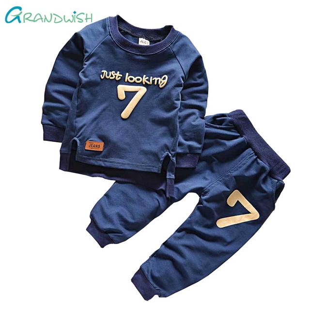 Grandwish Béisbol Chándal de Los Niños Ropa de Primavera Juego de Los Deportes para La Muchacha Niños Tops + Pants Traje Boy juego de 24 M-6 T, SC757