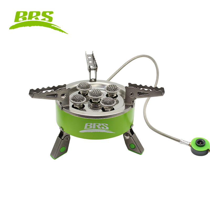 7000W Camping Cookware Outdoor Stoves Picnic Portable Gas Stove Cooking Stove Windproof Butane Burners Foldable Heater