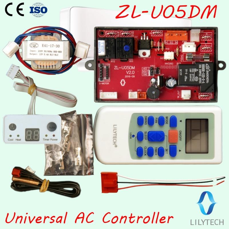 ZL-U05DM, PG motor, Universal ac control system, Universal a/c control system, Universal air conditioner controller, LilytechZL-U05DM, PG motor, Universal ac control system, Universal a/c control system, Universal air conditioner controller, Lilytech