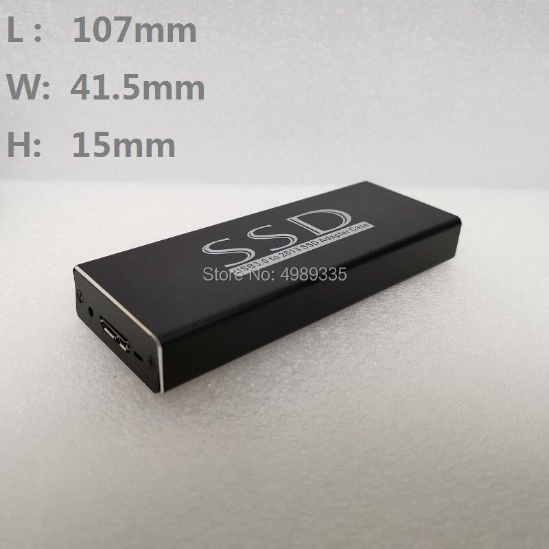 MacBook Air Pro Retina 2013 2014 2015 SSD Hard Disk Box usb3.0