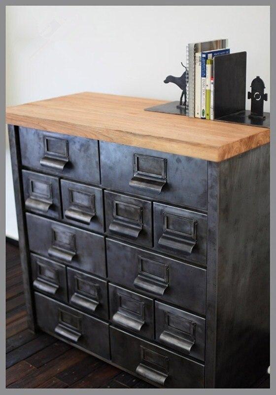 american industrial metal cargo retro corner cabinet. Black Bedroom Furniture Sets. Home Design Ideas