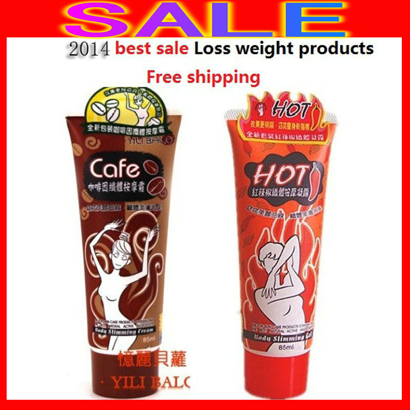 2018 YILI BOLO BODY CHILI+COFFEE(1+1=2pcs/set) SLIMMING GEL CREAM Fast Loss Weight Product/fat burning creams hot sale popular