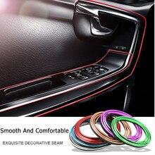 цена на 5M Car Styling Interior Accessories Strip Sticker For Hyundai IX35 Solaris Accent I30 Tucson Elantra Santa Fe Getz I20 Sonata I4