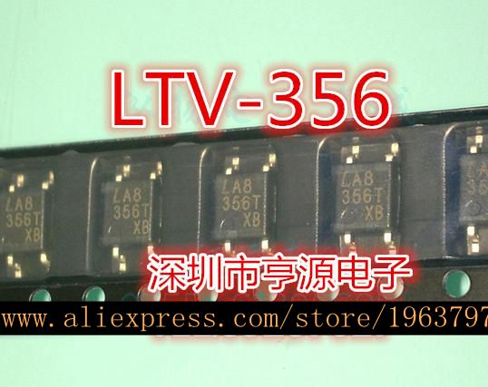 10pcs/lot LTV-356 LTV-356T SOP-4