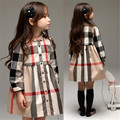 Girl princess dress long sleeve shirt